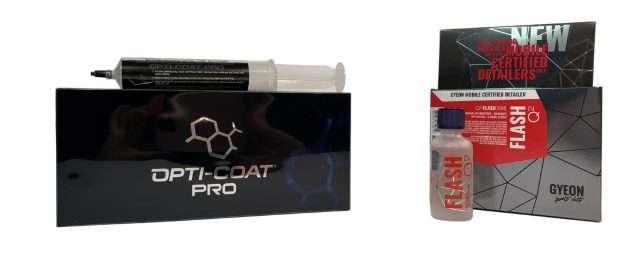 Mid Level Coatings - Opti-Coat Pro and GYEON Q² Flash